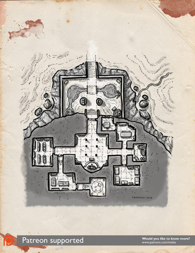 Map The Temple Of Tengu Miska S Maps